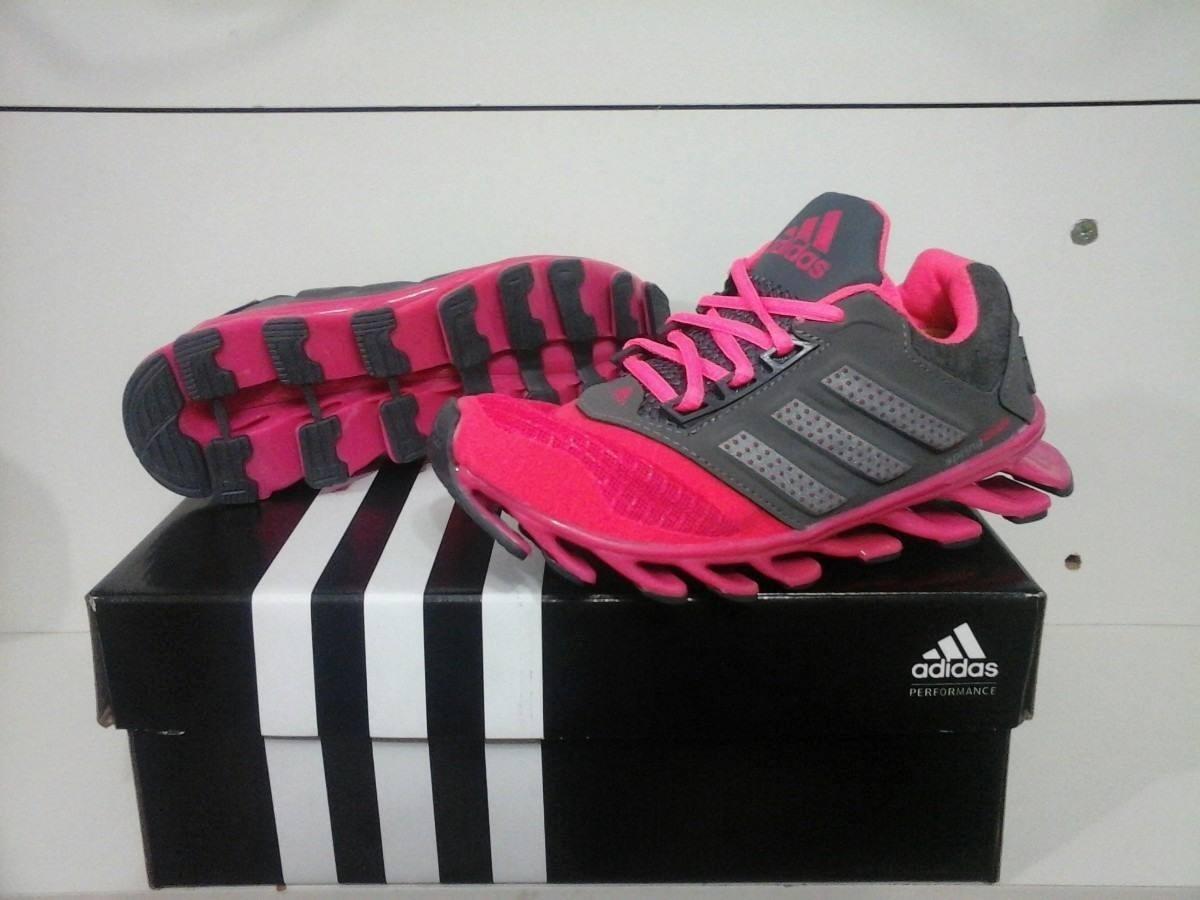adidas springblade feminino rosa e cinza