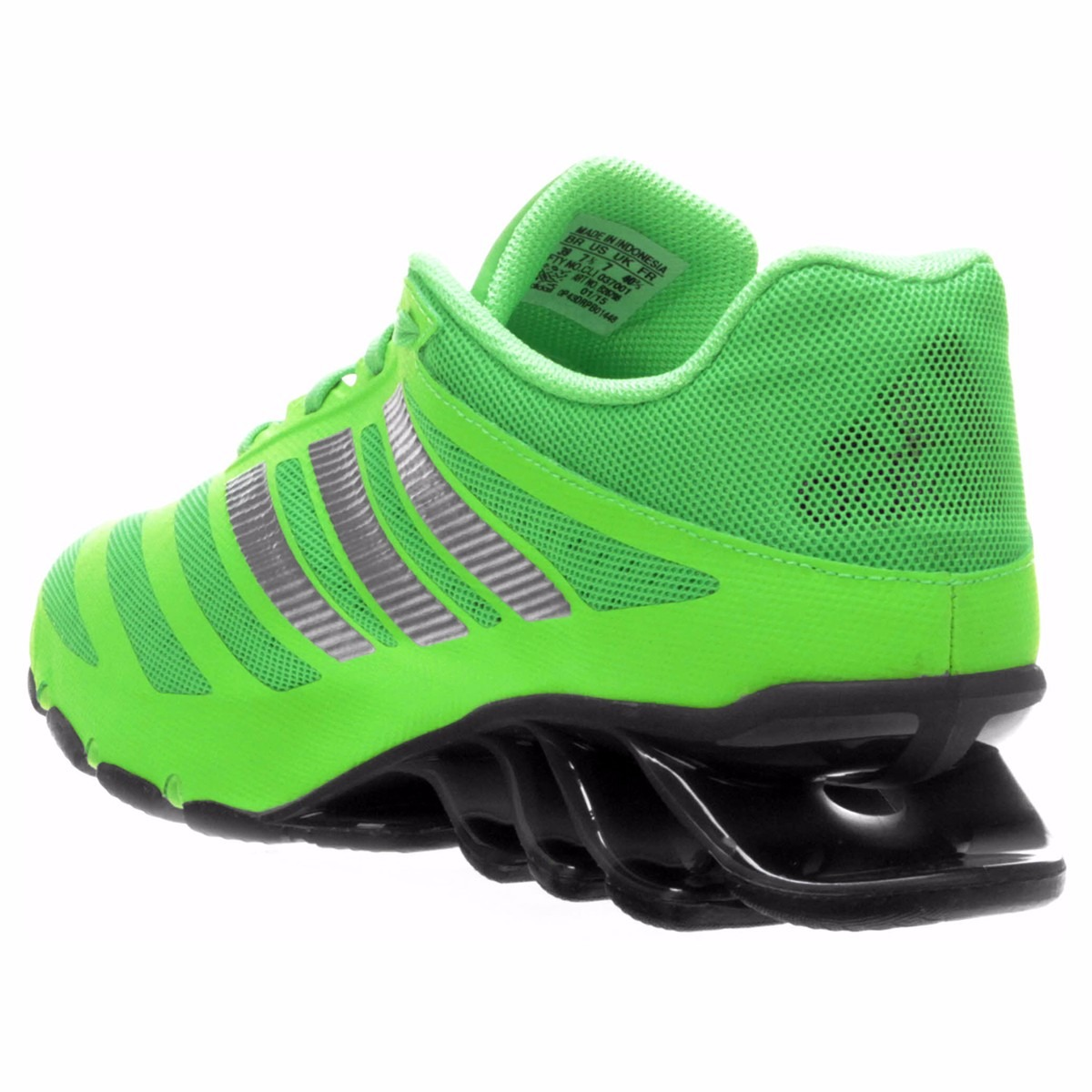 wholesale dealer d13fc 4f116 adidas springblade ignite white green