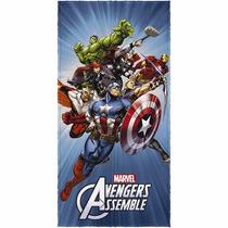 Toalha De Banho Infantil Felpuda Avengers Liga Os Vingadores