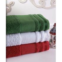 Kit Com 3 Toalhas De Banho Grossas 100%algodão Escolha A Cor