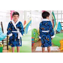 Roupão Microfibra Infantil Mickey P - Camesa (4 A 6 Anos)