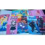 Lote Mini Toalha Times Princesa Frozen Enfeite Festa Atacado