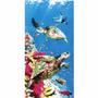 Toalha De Praia Gigante Aveludada Tartarugas - Dohler
