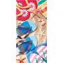 Toalha De Praia Gigante Aveludada Chinelos Sandals - Dohler