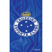 Toalha De Time Futebol Oficial Aveludada Buettner Cruzeiro