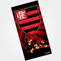 Toalha De Banho Flamengo Buettner Veludo Urubu