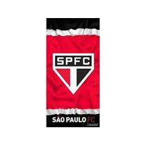 Toalha Oficial Licenciada De Time São Paulo Futebol