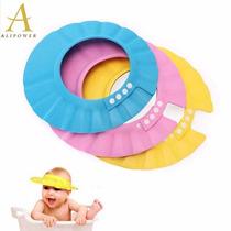 Lava Cabeça Protetor De Banho Viseira Chapeu Bebês Chuveiro