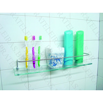 Porta Shampoo Prateleira De Vidro 50x10 Incolor