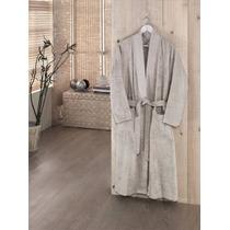 Roupao Bambu / Kimono Londa Bege ¿ Unisex
