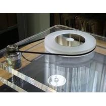 Correia De Toca Disco Vinil 18cm Prato 12 A 13 Cm Diametro