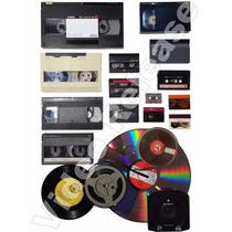 Conversão De Todo Tipo De Fitas ( Vhs -hi8 - Betamax -k7 )