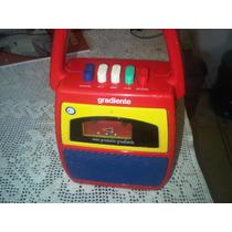 Gravador Gradiente Infantil - Aceito Mercado Pago.