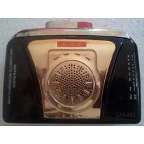 Walkman Gss Radio Am/fm Toca Fita Com Defeito