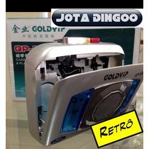 Gravador E Player De Fita K7 - Novo E No Brasil+brinde 1fita