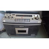 Radio Gravador Sony Cf-550a Vintage N/funciona