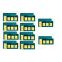 Kit 10 Chip Samsung Scx3200 | Mlt D-104 1.5k