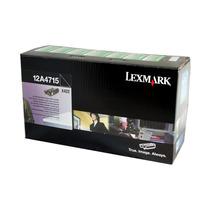 Cartucho Toner Preto Lexmark T422/x422(10k) Original 12a4715