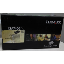 Toner Lexmark 12a7400 - E321 Original Lacrado