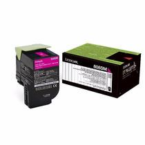 Toner Lexmark Original 80c8smo Magenta Cx310/ Cx410/ Cx510