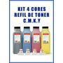 Kit Refil De Toner Minolta Bizhub C200 C224 C284 Jogo 4cores