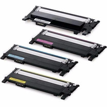 Kit/4 Toner Samsung Clp-365w Clx-3305w Clx-3305f Clt 406s