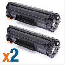 Kit 2 Un Toner Impressora Hp Laserjet 1102w Ce285a Lacrado