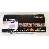 Toner E460x11l Lexmark E460 100% Novo, Original E Lacrado!