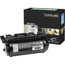 64018hl Toner Lexmark Preto T640 T642 T644 21k Original