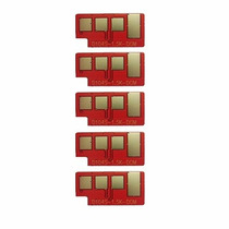 Kit 5 Chip Samsung D104s Ml1660 1661 1665 1860 1865 Scx3200