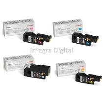 Kit 4+1 Toner Xerox Phaser 6000 6010 Workcentre 6015 Novo