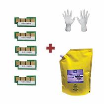 Kit Recarga 1kg Refil De Toner + 5 Chip Samsung D101s |101s