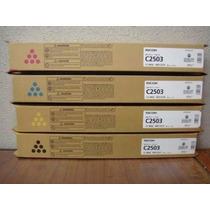 Kit Toner Ricoh Mp C2003 2503 - Kcmy Original Ricoh