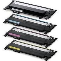 Kit 4 Toner Compatível Sl C410w Sl C460w, Clp-365 - 360-3305