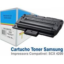 Cartucho Toner Samsung Scx4200 C/ Chip - Compatível