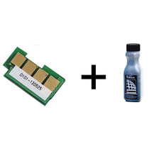Kit Recarga Chip E Pó Samsung 504 Clp-415nw / Clx-4195fn /fw