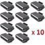 Kit Com 10 Toner Brother Tn 580/650 Compativel Vazio