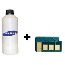 Kit Refil Recarga Toner Samsung 4600 1865 + Chip D104s D105s