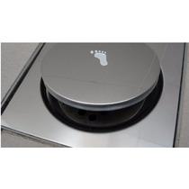 Kit 05 Ralos Clic Inox 15x15 - Ralo Inteligente