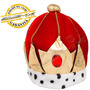 Coroa Rei 100% Flanelada Festa Fantasia Shows Aniversários