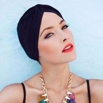 Turbante Touca Gorro Ideal Durante Quimioterapia Cancer