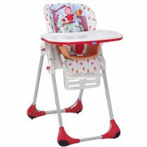 Cadeira Cadeirinha Alimentação Polly Em Vermelha Chicco