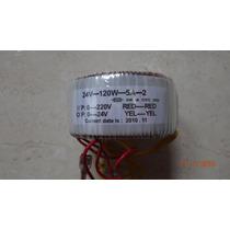Transformador Toraidal 24v-120w-5a-2 Produto Novo