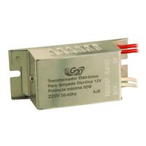 Transformador Eletronico Dimerizavel 12v 50w Lamp. Dicróica