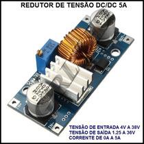 Redutor Ajustável De Tensão Dc/dc 5a-frete Grátis Cr
