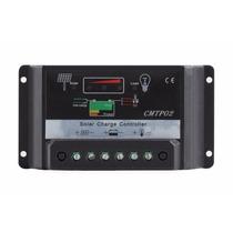 Controlador De Carga Para Painel Solar 30 Amperes 12v E 24v