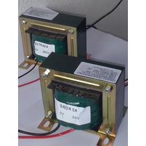 Transformador (trafo) 15+15v 2.5a / 12+12v 1a