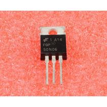 Transistor Fqp50n06 * Fqp 50n06 *100% Original * Lote Certif