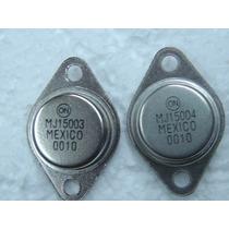 4pçs Transistor Mj15003 + Mj15004 15003 + 15004