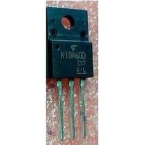 Transistor 10n60 = Tk10a60d Emb. C/ 2 Pçs. - R$ 10,00